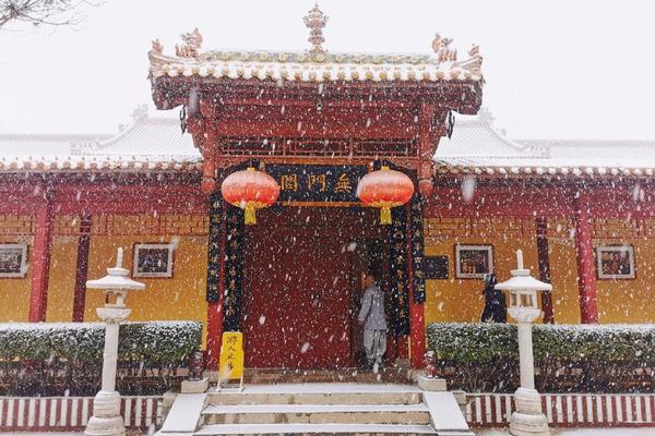 雪后赵州祖庭:柏林禅寺