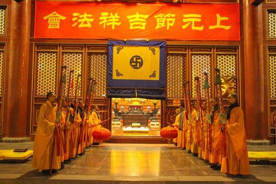 柏林禅寺将举办一年一度的上元节吉祥法会。