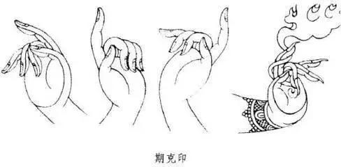 常识:佛像的七种手势