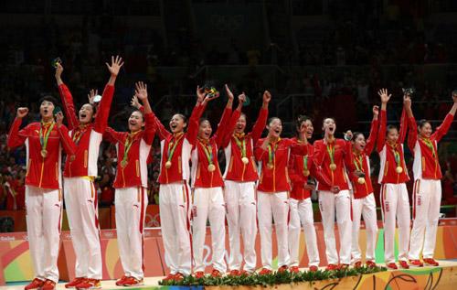 中国女排夺冠  为她们欢呼!
