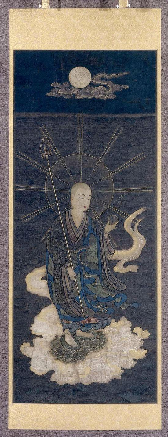 地藏菩萨接引图
