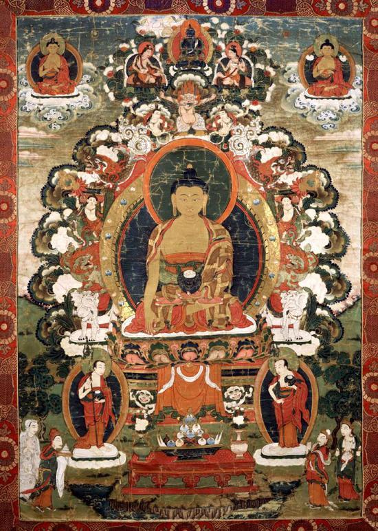 十九世纪西藏噶举派传承绘画