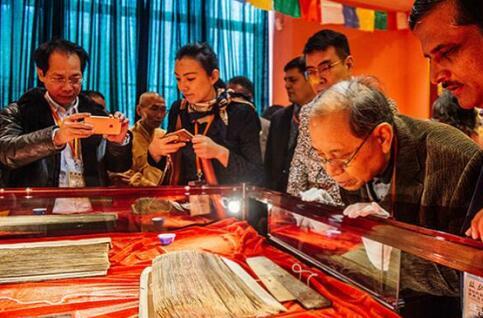 千册国宝级梵藏佛典现世