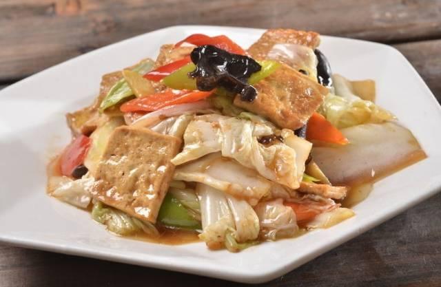 素食养生:五香豆腐