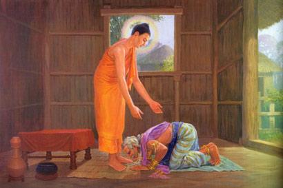 顶礼佛祖,共有十种功德。