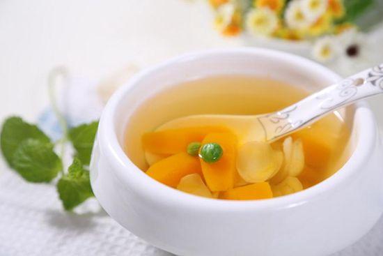 南瓜百合梨子汤