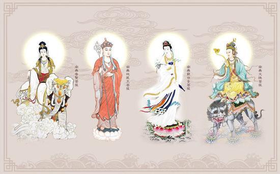 净慧长老:四大菩萨的精神