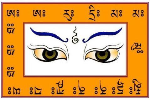 """所谓五眼,是指从凡夫至佛位,对于事物现象终始本末的考察功能。有人称眼睛为""""智慧之门""""、""""灵魂之窗"""",眼睛能够明辨物象,增长知识。修行的层次越高,心眼作用的范围越广。"""