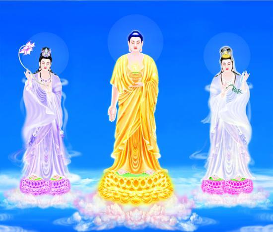 观音菩萨是阿弥陀佛的胁侍