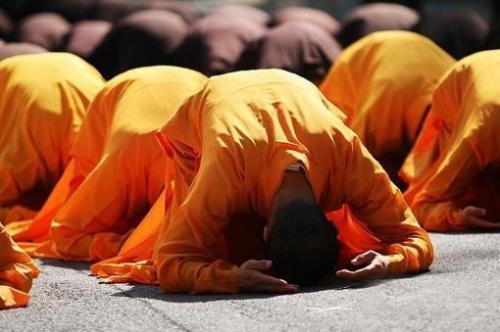 愿大众在难得的佛七期间都能老实念佛,精进念佛,得大利益。阿弥陀佛!