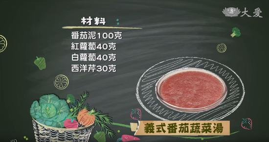 素食养生:意式番茄蔬菜汤