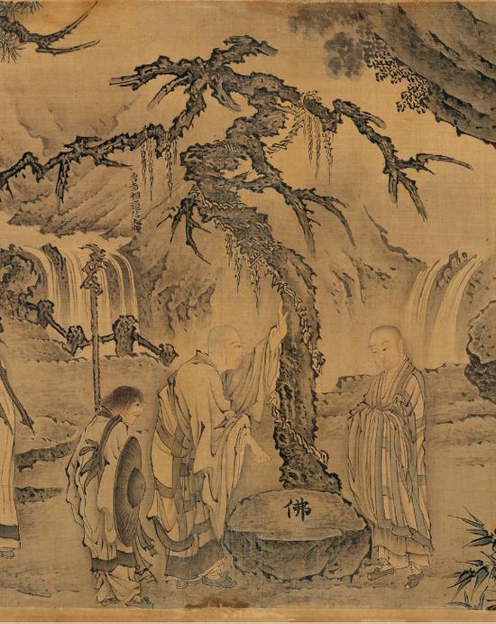 牛头山法融禅师(594-657),润州延陵(今江苏丹阳)人。