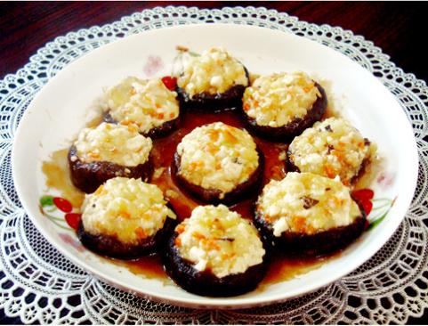 素食养生:香菇盏