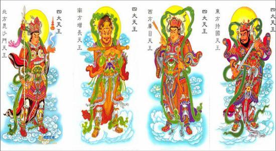"""佛教""""四大天王""""的表法含义"""