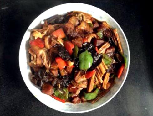素食养生:红烧素十锦