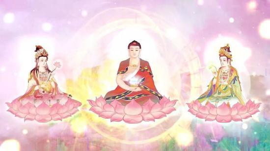 买一分快三技巧,怎样区分大势至菩萨和观世音菩萨