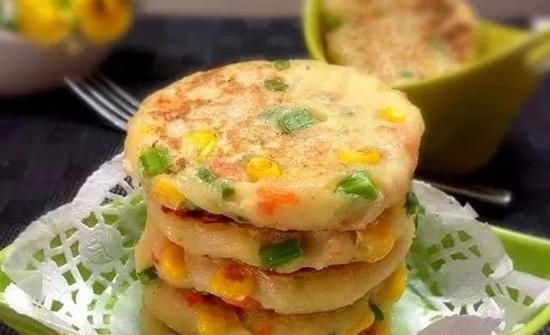 素食养生:田园马铃薯饼(图片来源:弘化社)