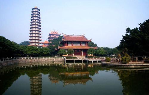 钟声千古响唐音:福州西禅寺