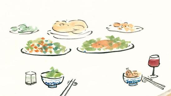 吃肉边的菜算不算犯戒?