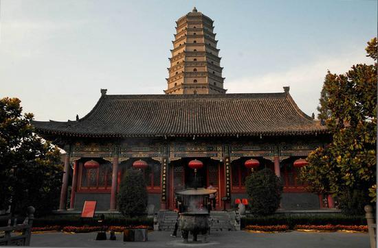皇家寺院:扶风法门寺
