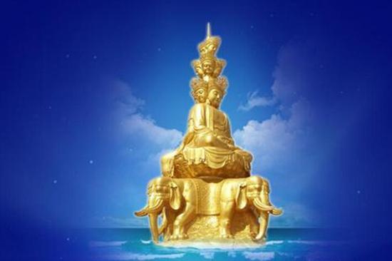普贤菩萨告诉了我们得到智慧的十种途径