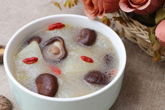 冬瓜冬菇汤