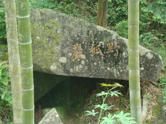 百丈寺野狐岩