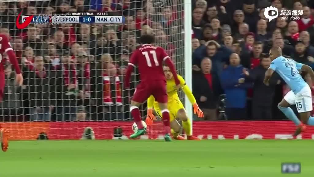视频-再胜曼城 萨拉赫传射助利物浦占得先机