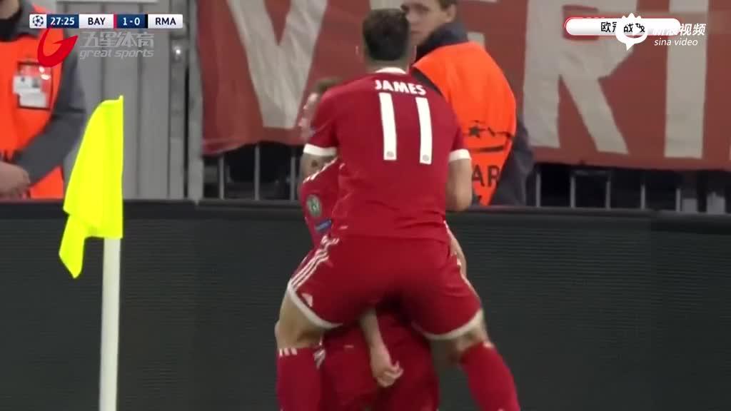 欧冠半决赛:阿森西奥替补建功 皇马客场逆转拜仁