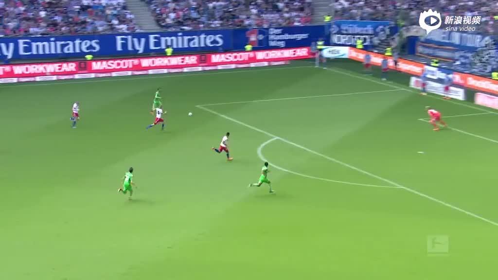 视频集锦-汉堡2-1门兴难逃降级 德甲恐龙史上首降德乙