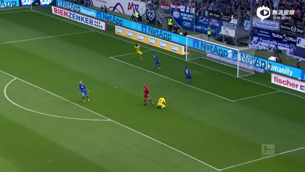 视频集锦-多特1-3霍村跌至第4 两队携手进欧冠