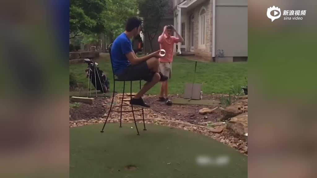 花式高尔夫表演