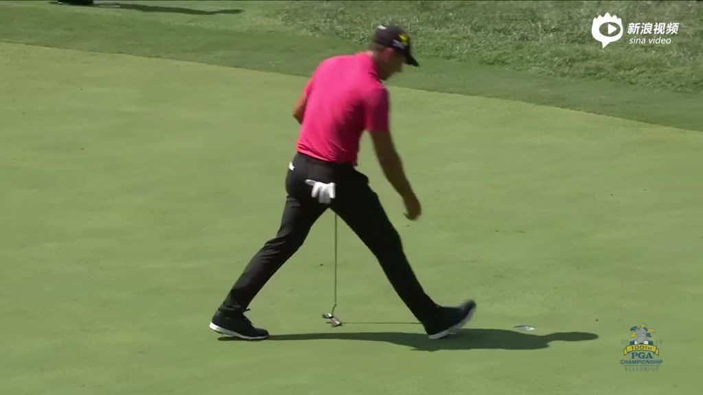 PGA锦标赛次轮集锦