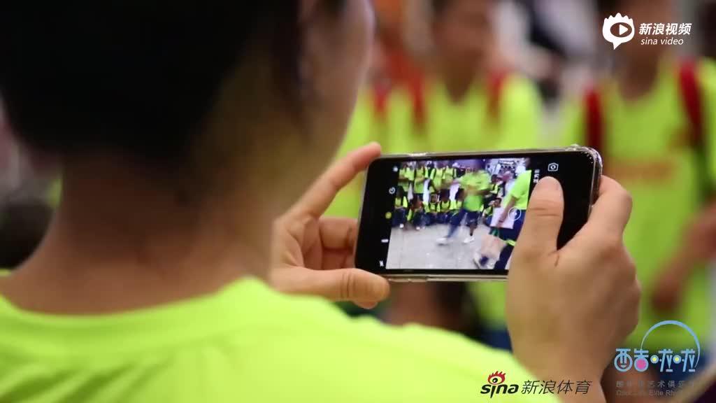 中国啦啦操代表团出征澳洲