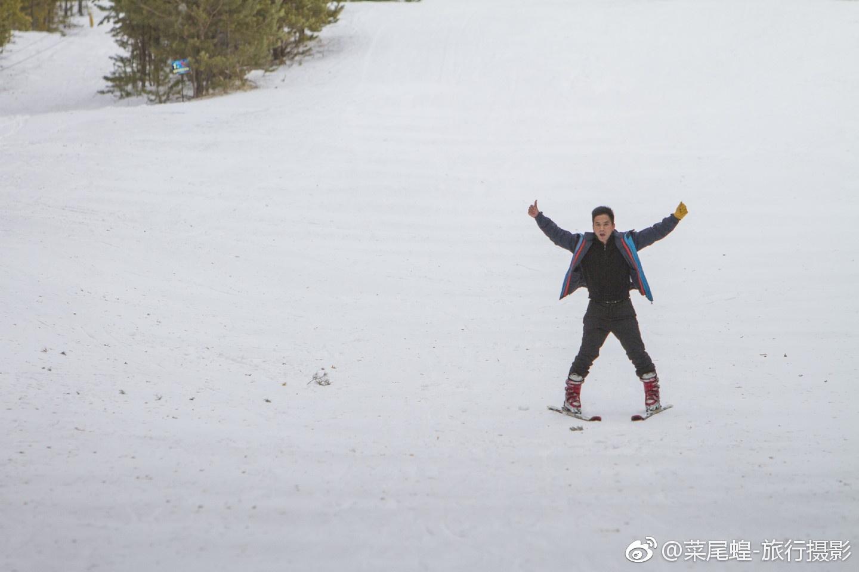 冬天的哈萨克斯坦冰雪覆盖