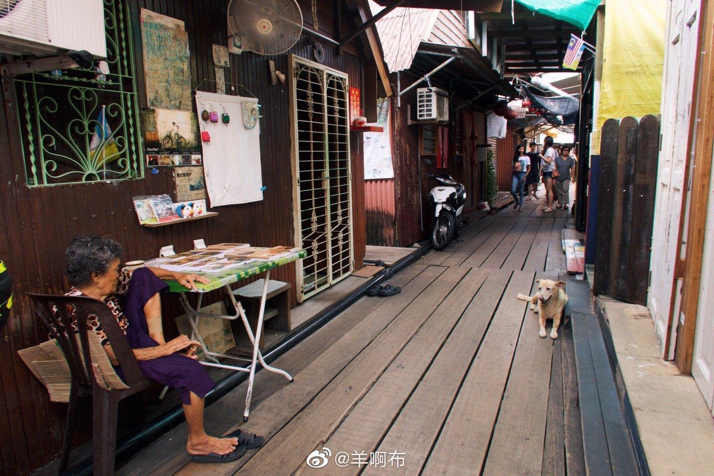 槟城的姓周桥,一个有生活气息的景点