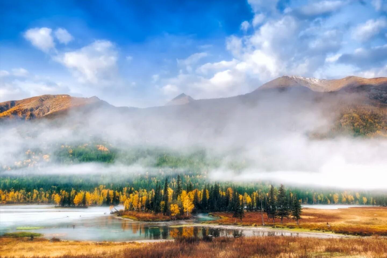 新疆的秋一草一木皆风景