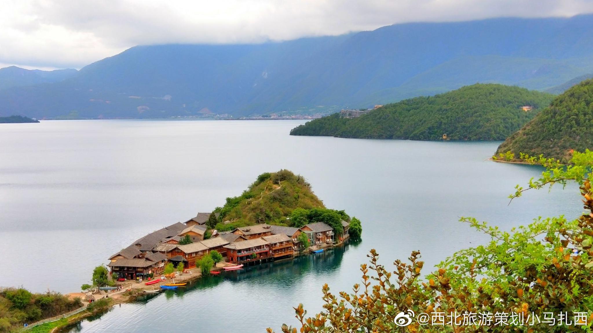 镜头下的泸沽湖