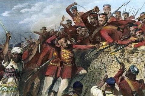 英国百般压迫,印度人都没起义,直到他们用牛脂和猪油涂抹子弹