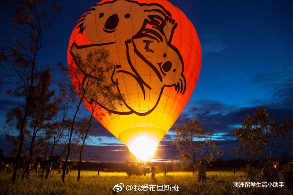 一场浪漫的热气球之旅