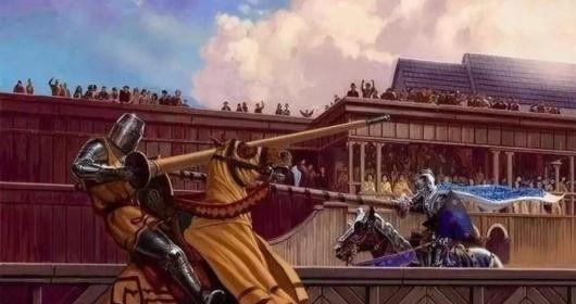 马背风流:中世纪欧洲的骑士比武演变图片