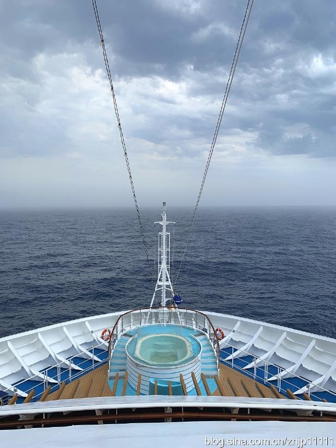 海外游记——加勒比海西线游(2)在茫茫的大海上