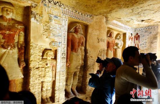 埃及发现距今4400多年王室祭司墓葬 保存相当完好|祭司|埃及|开罗