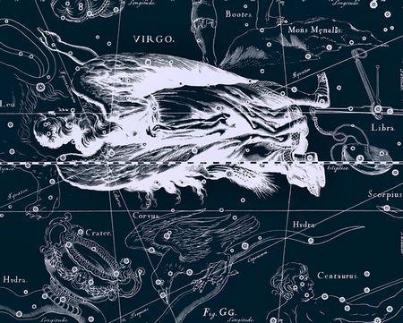 处女座星图(图片来源于网络)