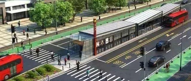 抚州BRT未正式开通前 社会车辆可在专用车道通行