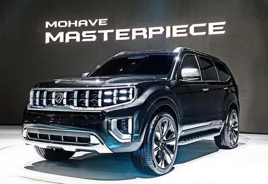 全新起亚霸锐概念车,首尔车展首发,颠覆起亚以往品牌SUV的风格