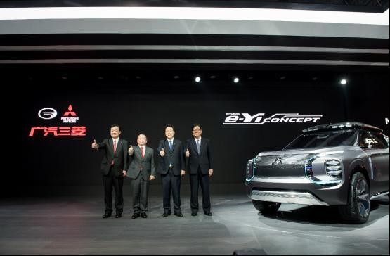 """广汽三菱亮相上海车展,面向2023年打造""""新速度"""""""