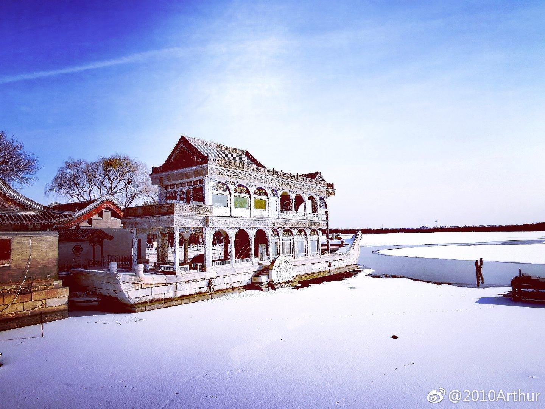 雪后颐和园