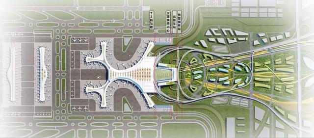 昆明长水国际综合交通枢纽设计方案揭晓