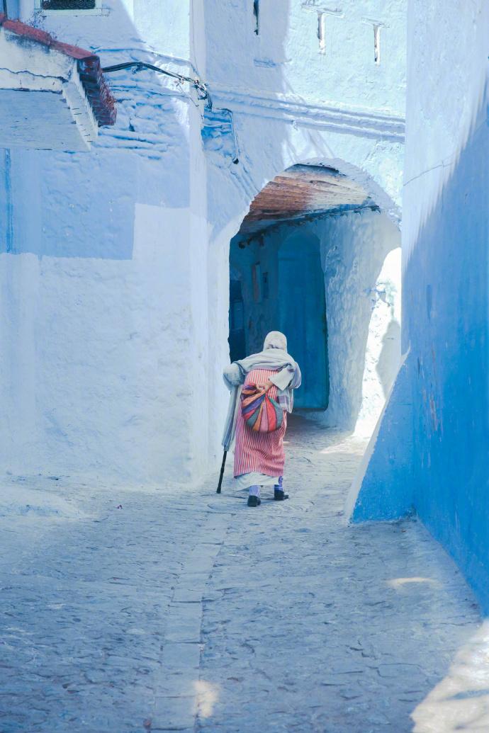 有一种蓝,名叫舍夫沙万